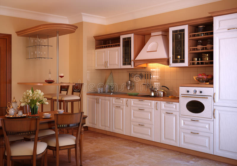 Classic Kitchen royalty free stock images
