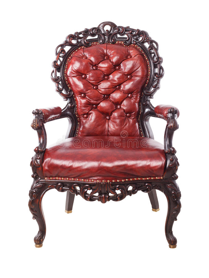 Free Classic Leather Luxury Big Boss Chair Royalty Free Stock Photography - 59270547