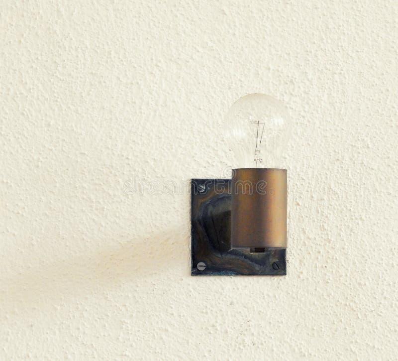 Classic light bulb. Still life stock photo