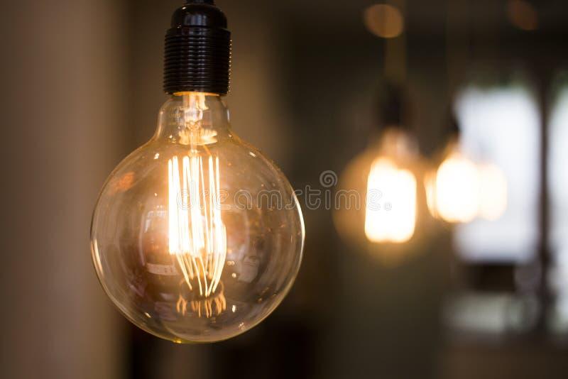 Classic lighting stock photo