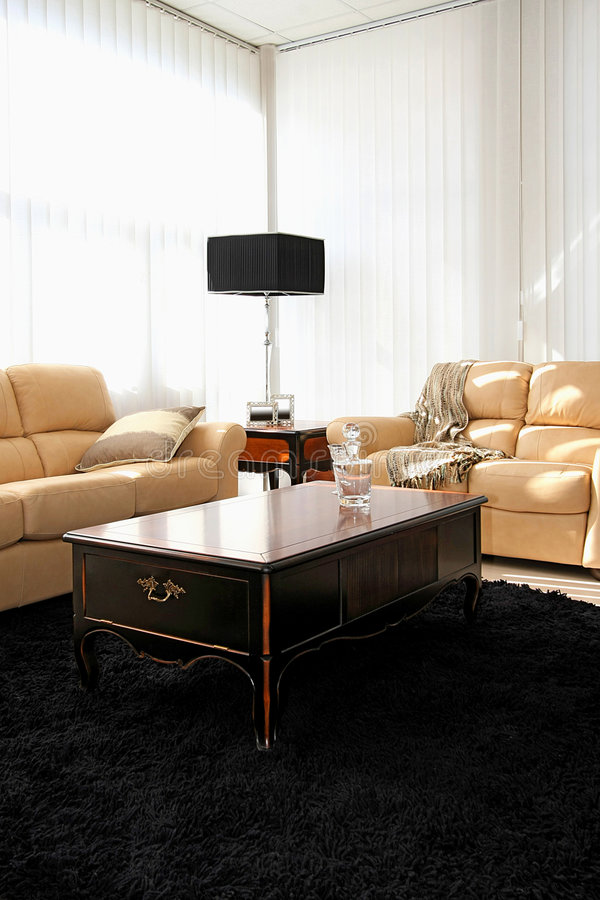 Download Classic living room stock image. Image of table, sofas - 9094547