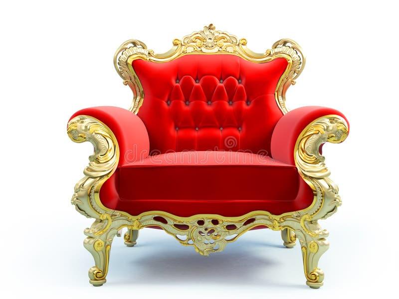 Classic luxury chair stock illustration
