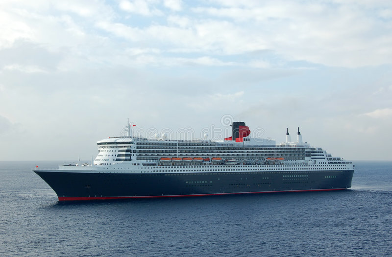 Classic Luxury Ocean Liner Stock Photos