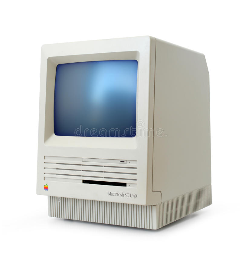 Download Classic Mac SE editorial stock photo. Image of eighties - 16015038