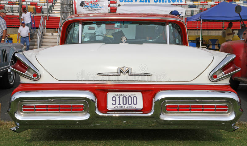 Classic mercury automobile editorial photography image for Auto fair at charlotte motor speedway