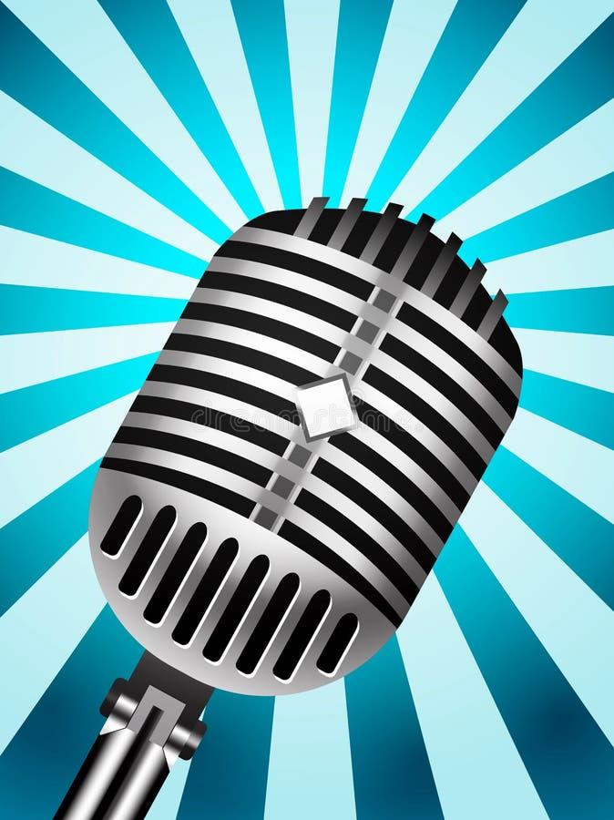 Download Classic Microphone stock vector. Image of karaoke, broadcasting - 21757552