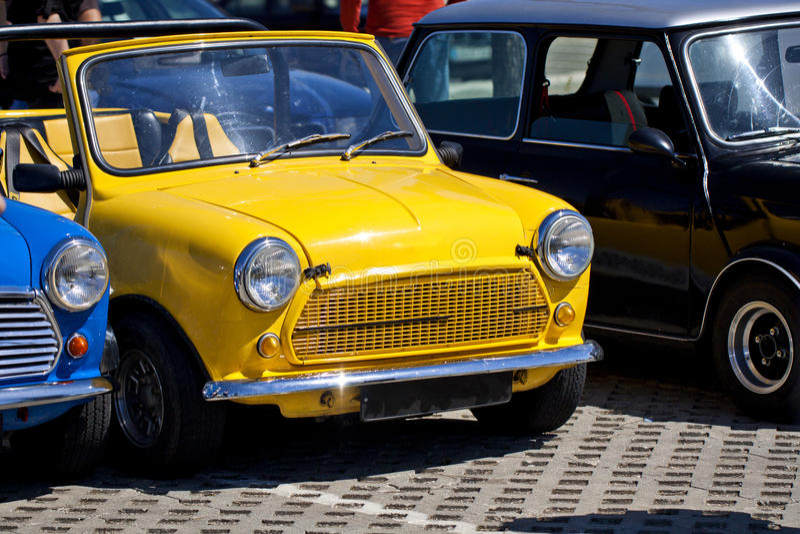 Classic mini cars