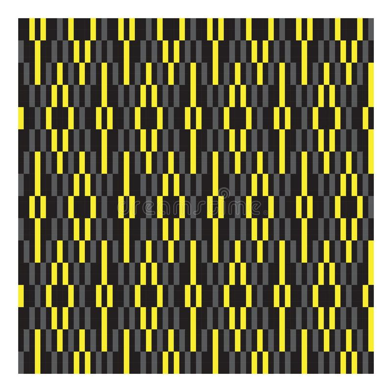 Classic Modern Argyle Repeat Pattern Background royalty free illustration