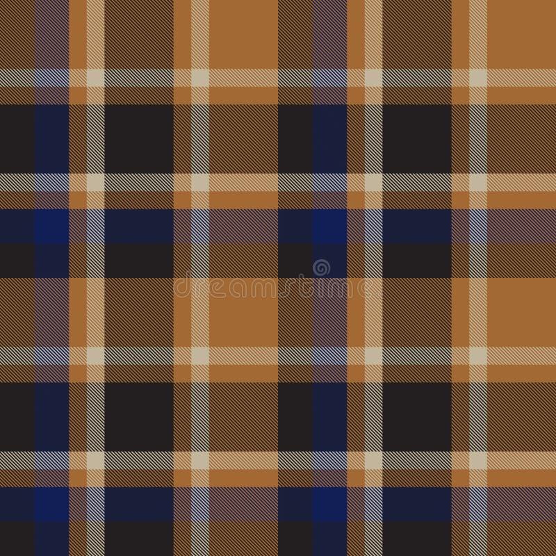 Classic Modern Plaid Tartan Seamless Pattern. This is a classic plaid, checkered, tartan pattern suitable for shirt printing, fabric, textiles, jacquard patterns stock images