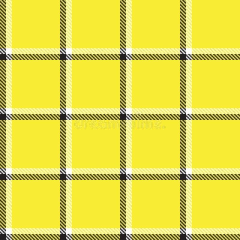 Classic Modern Plaid Tartan Seamless Pattern. This is a classic plaid, checkered, tartan pattern suitable for shirt printing, fabric, textiles, jacquard patterns stock photo