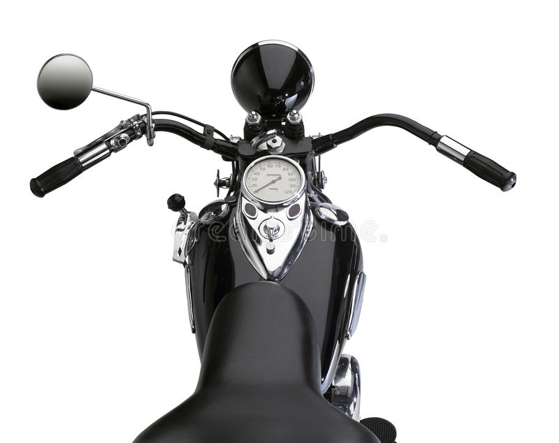 Classic motorbike royalty free stock images