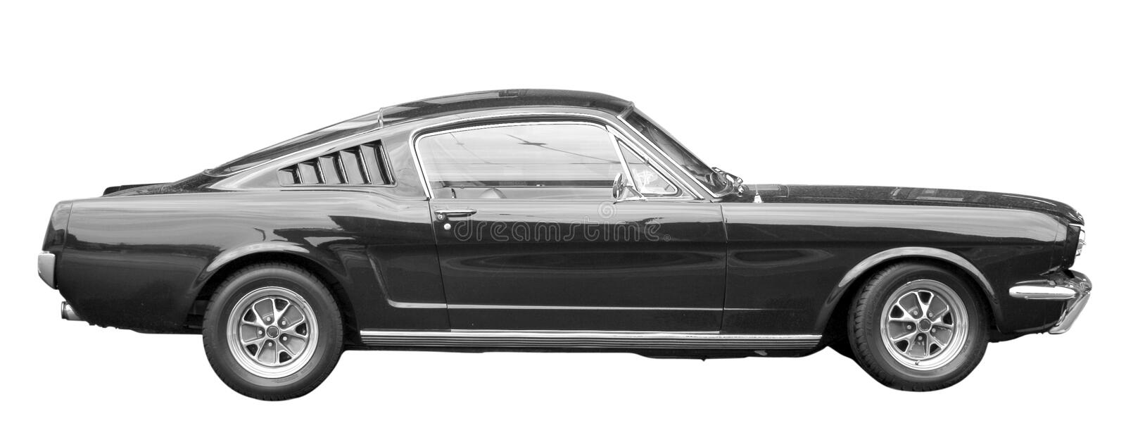 Classic Muscle Car stock photography
