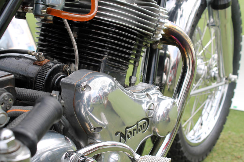 Download Classic Norton Commando Motorcycle Engine Editorial Stock Image - Image of florida, font: 32272789