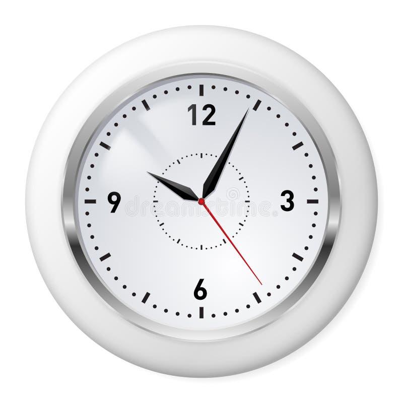 Classic Office Clock Stock Photo