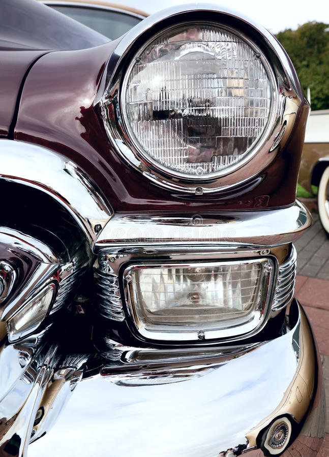 Classic Old Car Stock Images