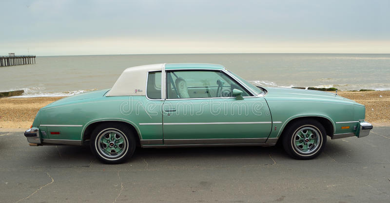 Classic Oldsmobile Cutlass Motor Car royalty free stock photography