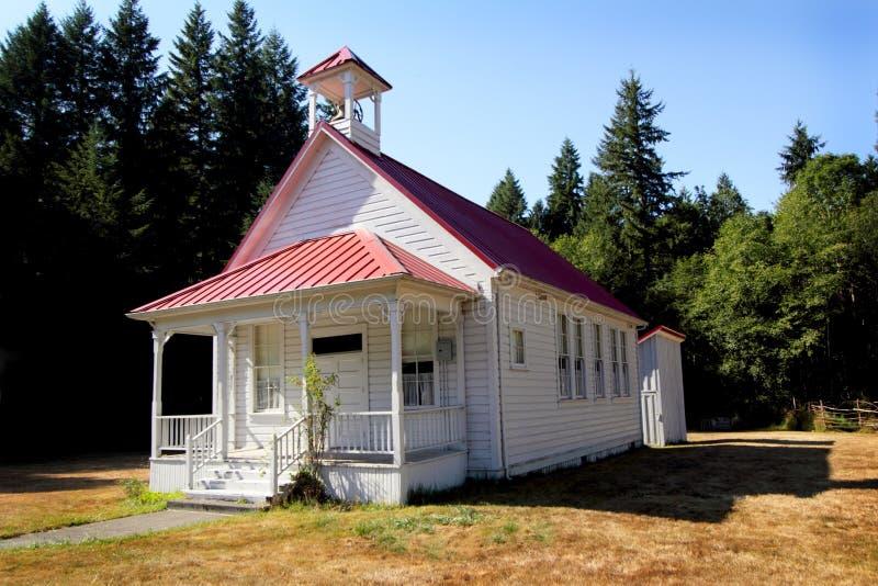Classic One Room School House stock image