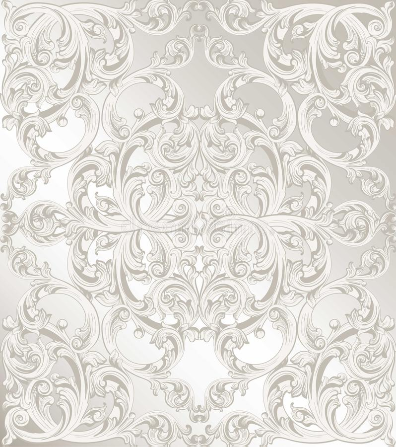 Classic Pattern Ornament Vector Luxury Background For Invitations