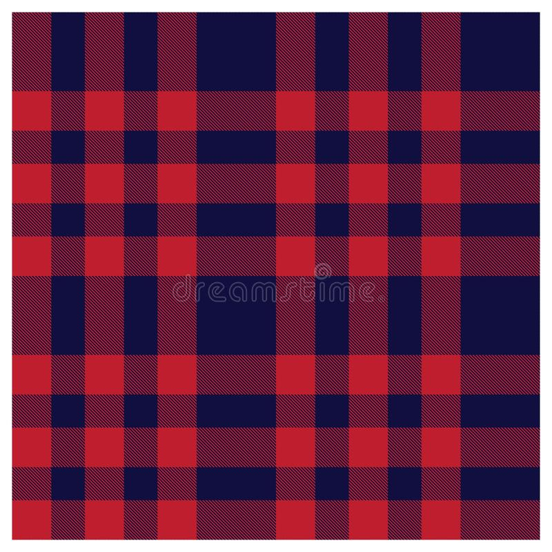 Colourful Classic Modern Plaid Tartan Seamless Print Pattern vector illustration
