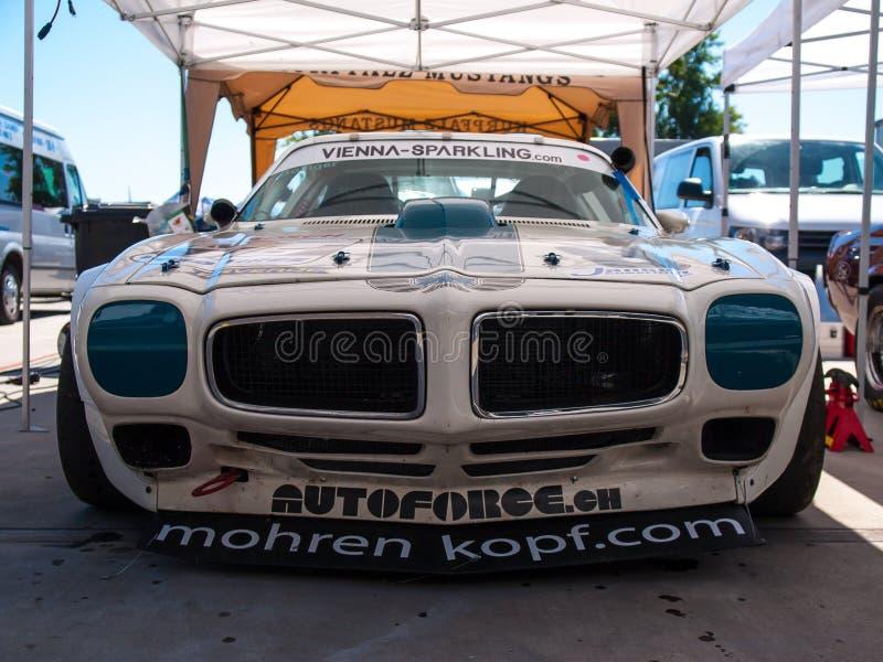 Classic Pontiac Firebird race car royalty free stock image