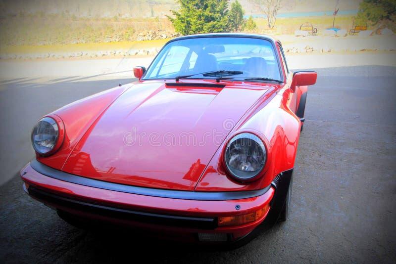 Classic Porsche stock image