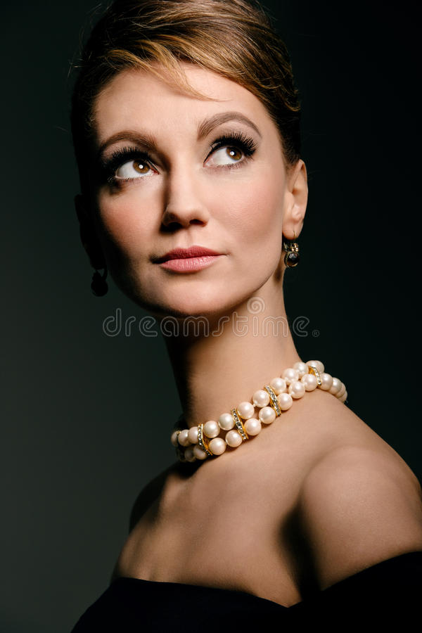 Classic portrait royalty free stock images