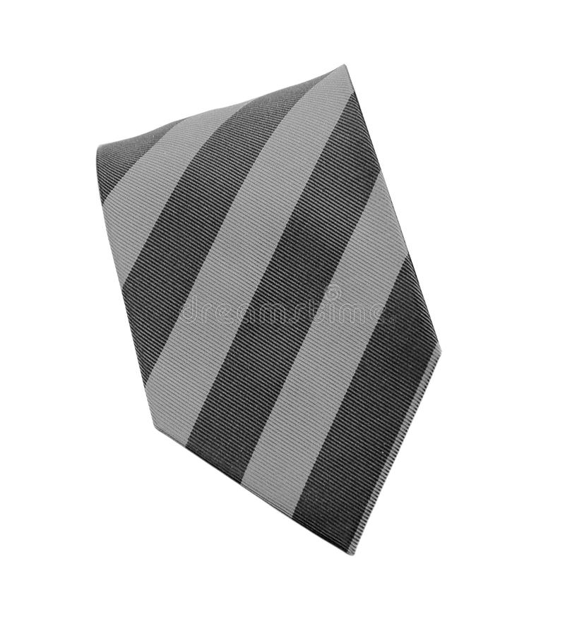 Classic purple tie isolated on white royalty free stock images