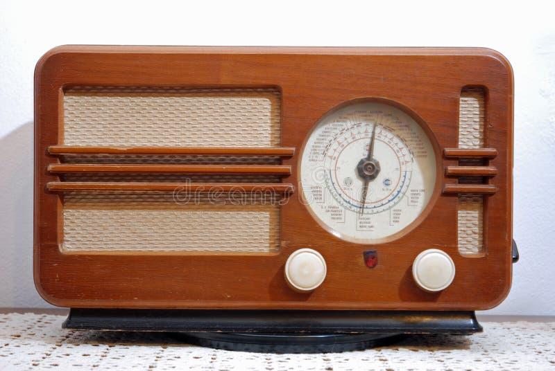 Classic radio stock photo