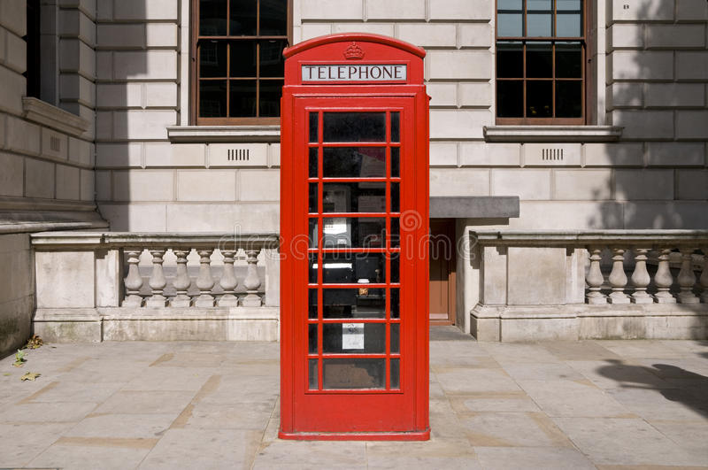 Download Classic Red British Telephone Box Stock Photo - Image of windows, culture: 15888630