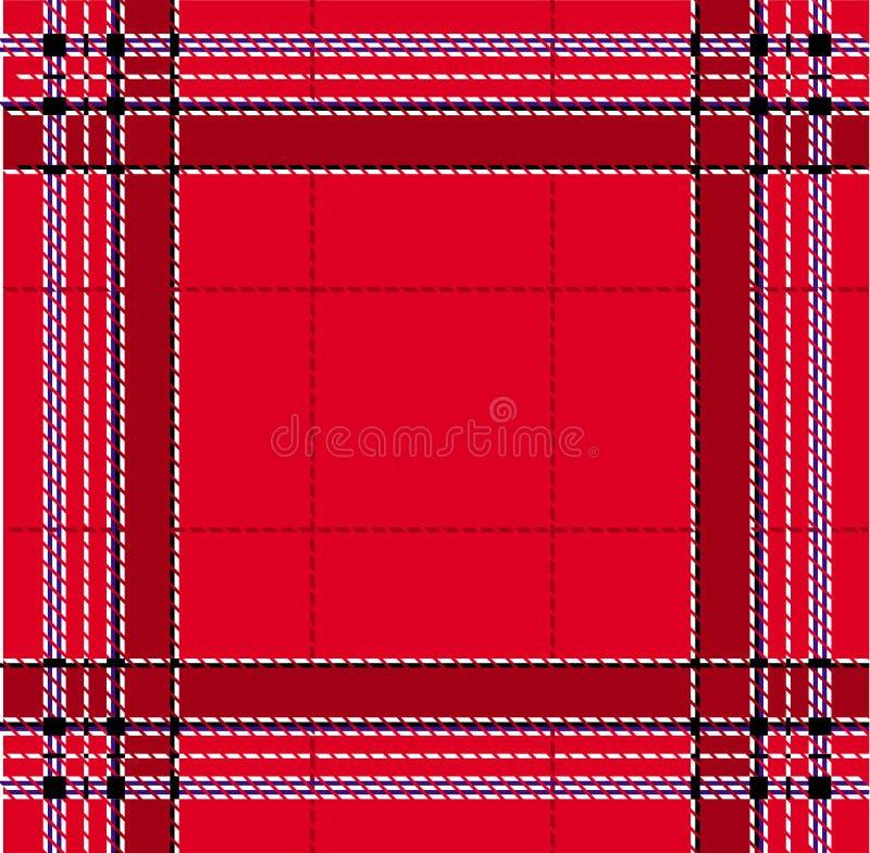 Classic Red Tartan Royalty Free Stock Photo