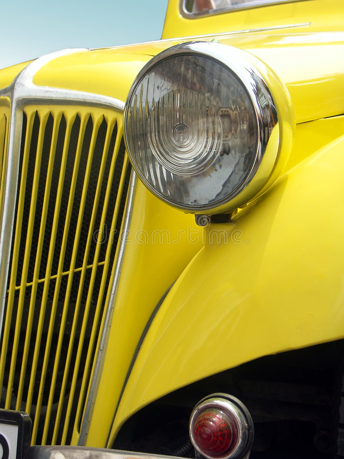 Classic retro car royalty free stock image