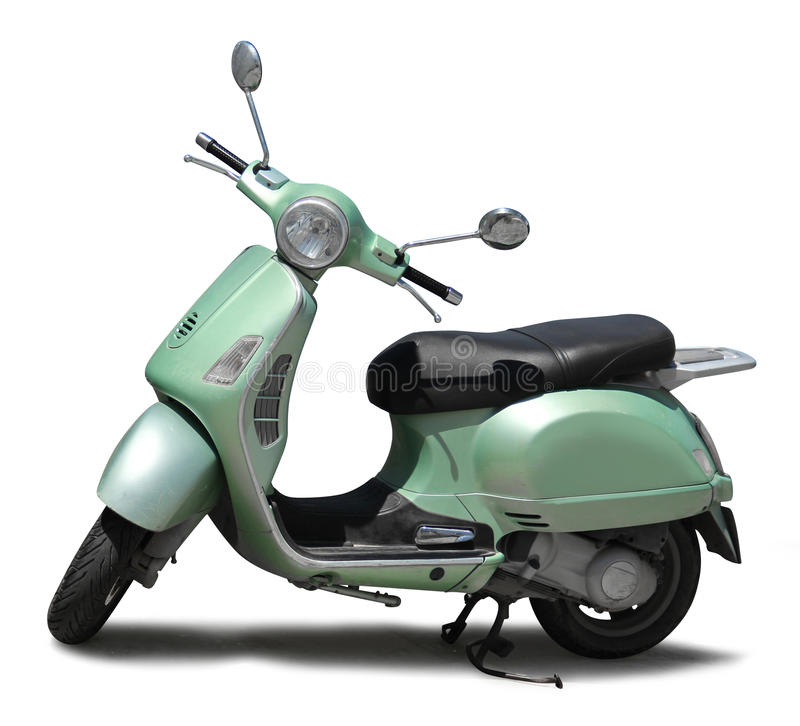 Free Classic Scooter Isolated Stock Photos - 32029493