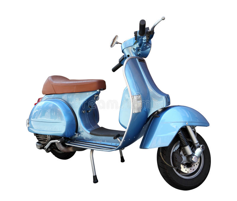 Download Classic scooter stock image. Image of vintage, motorbike - 43375713