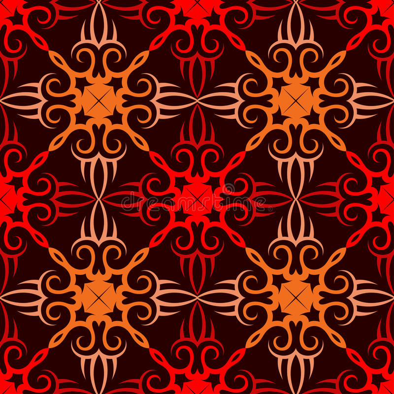 Classic seamless ornament royalty free stock photos