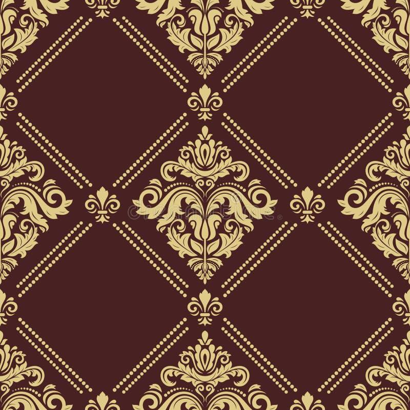 Classic Seamless Pattern stock illustration
