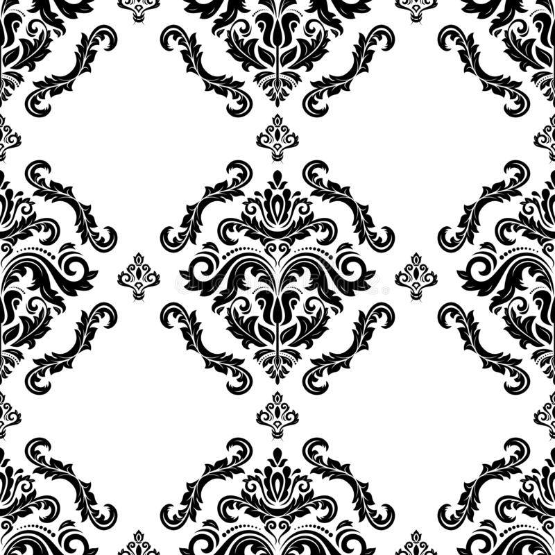 Classic Seamless Pattern royalty free illustration