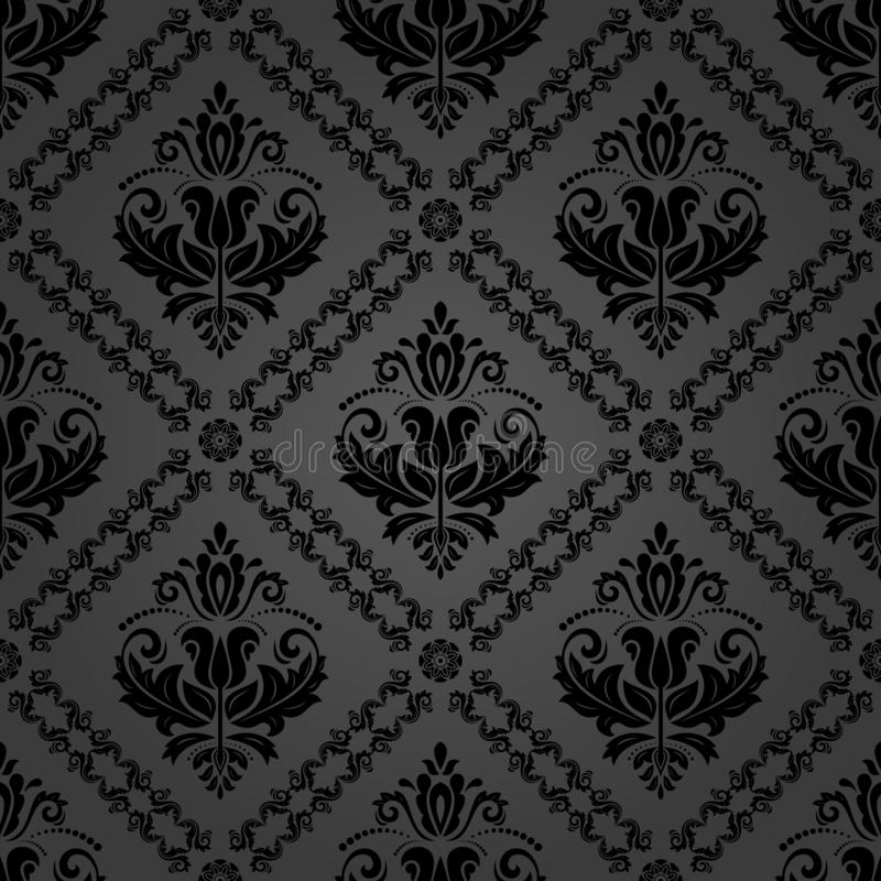 Classic Seamless Vector Pattern royalty free illustration
