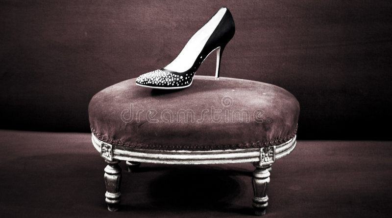 Classic Shoe stock images