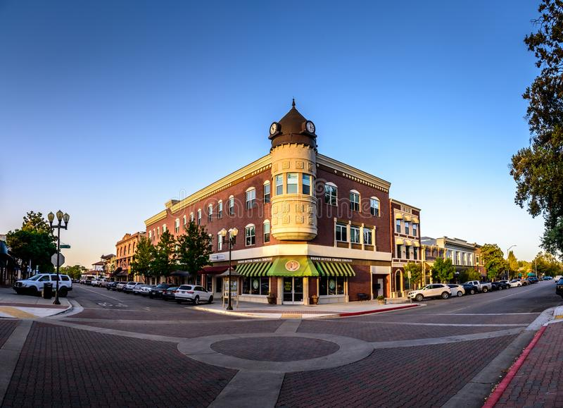 Downtown Paso Robles stock photos