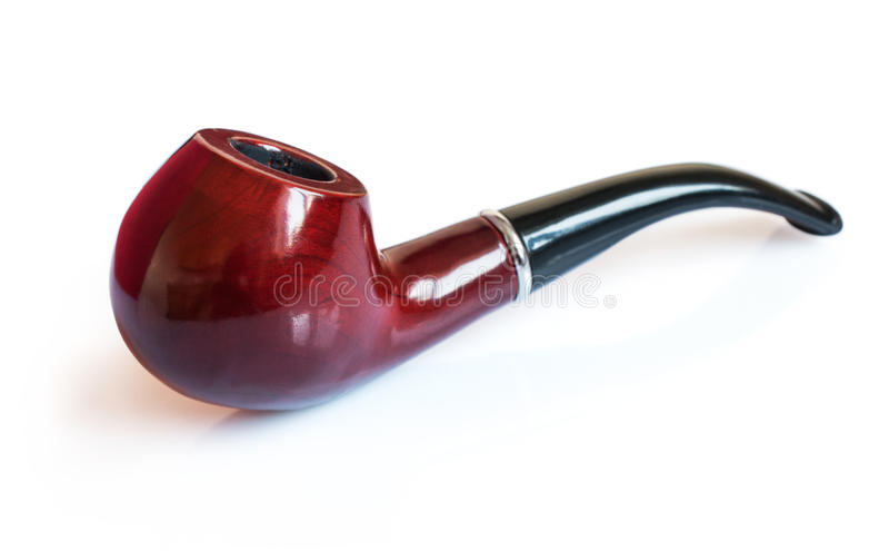 Classic smoking pipe royalty free stock photos