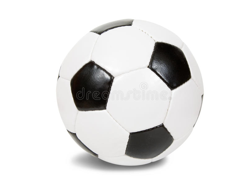 Classic soccer ball. royalty free stock photography