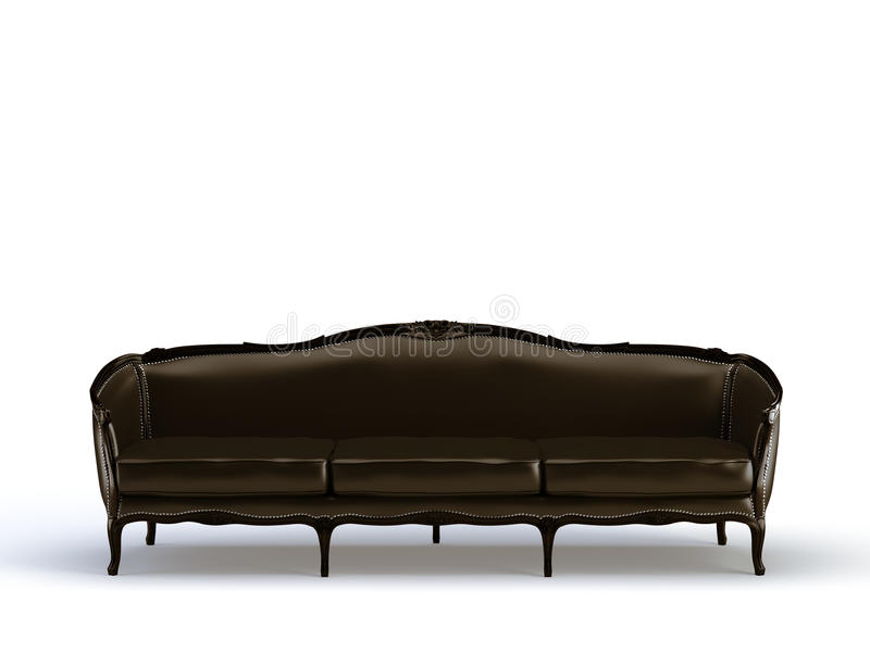 Classic sofa stock illustration