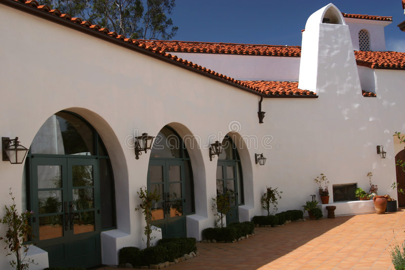 Download Classic Spanish Architecture Stock Image - Image: 98441
