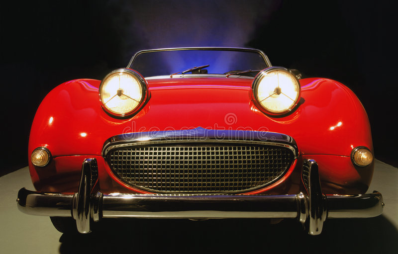 Classic Sports Car royalty free stock photos