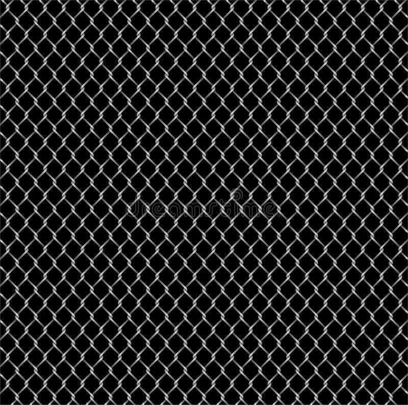 Download Classic steel wire fence stock vector. Image of style - 14192665