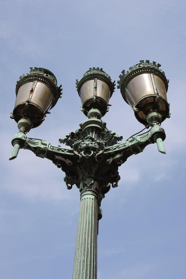 Download Classic street lamp stock image. Image of bronze, europe - 23623601