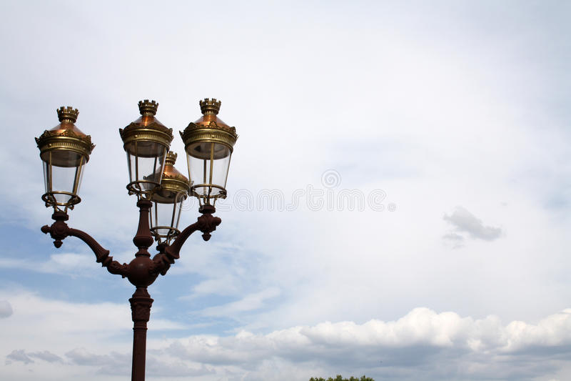 Classic streetlight stock photos