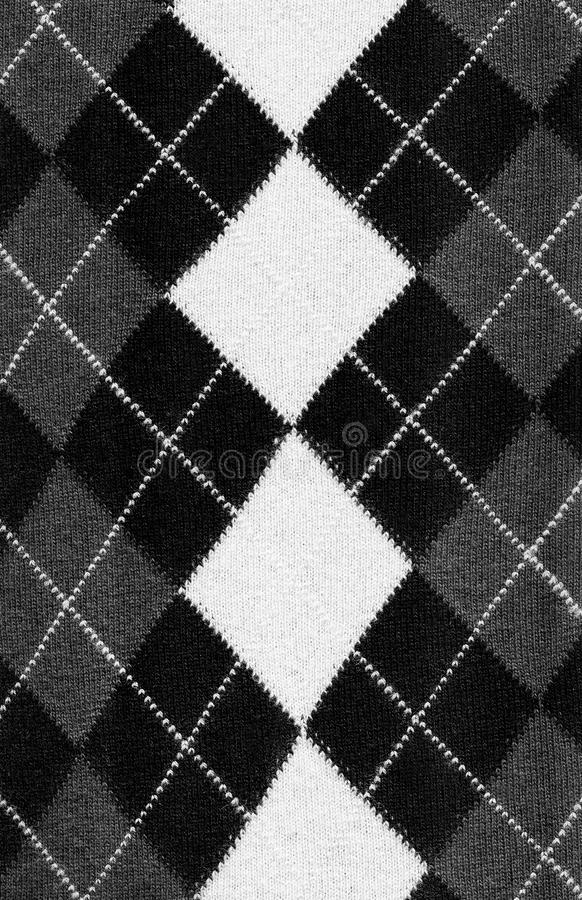 Classic sweater pattern. Detail of the traditional irish sweater pattern stock images