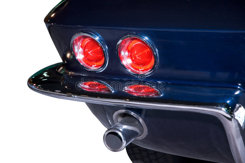 Download Classic Taillights stock photo. Image of speedsters, white - 464354