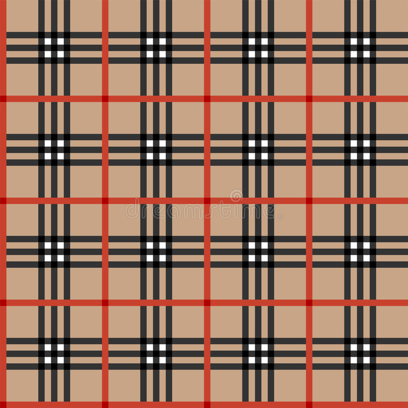 Download Classic tartan fabric stock vector. Image of ornamental - 7818713